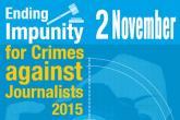 Međunarodni dan borbe protiv nekažnjenog ubijanja novinara