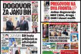 Najčešće teme: Federacija, BiH,Terorizam i Evropske integracije
