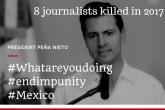 IFJ pokrenuo globalnu kampanju solidarnosti s novinarima u Meksiku
