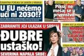 Srpski tabloidi u napadu na Severinu nakon izjave da ne želi raditi za negatora genocida