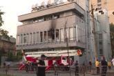 Ukrajinska TV stanica zapaljena tokom protesta