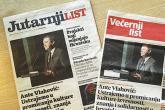 Hrvatska: Jutarnji i Večernji sa identičnim naslovnicama