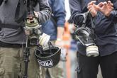 Od predsjedničkih izbora u Bjelorusiji privedeno preko 170 novinara, a dvoje ih je ranjeno