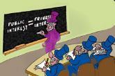 Karikatura: Javni interes u medijima