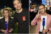 Na skupu antivaksera u Beogradu novinari N1 ometani, vrijeđani i gađani jajima