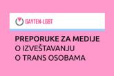 Kako izvještavati o trans osobama